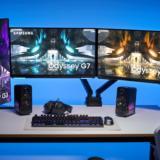 Samsung aduce monitoare de gaming cu ecran plat în gama Odyssey