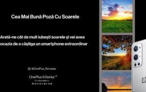 Concurs OnePlus: Cum poți să câștigi un smartphone OnePlus 9