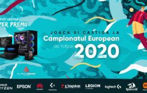 PC Garage organizează un concurs cu premii în valoare de 76.000 de lei, cu ocazia Euro 2020