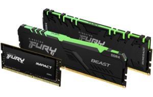 Kingston lansează trei noi module de memorie RAM: DDR4 cu și fără RGB și DDR3 SODIMM