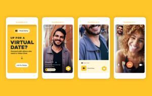 Bumble, o rețea socială pentru dating, deschide un restaurant pentru a ajuta oamenii să se întâlnească din nou