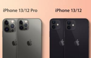 Opțiune de 1 TB pentru iPhone 13 Pro, LiDAR pe toate modelele. Cele mai recente zvonuri despre următoarele modele Apple
