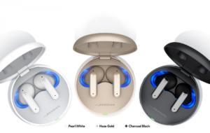 LG lansează două noi modele căști Tone Free cu autocurățare UV și ANC