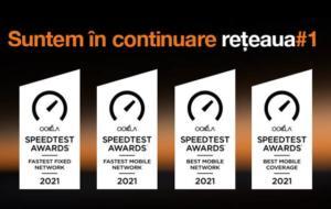 Orange, rețeaua cu cel mai rapid internet fix și mobil din România