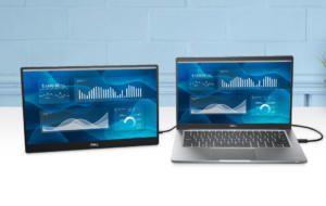Dell lansează un nou monitor portabil de 14 inci