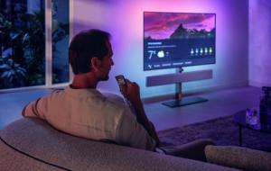 Philips lansează două noi televizoare OLED cu sunet Bowers & Wilkins