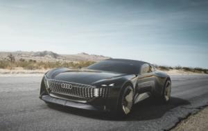 Cum arată Skysphere, noul concept car Audi care își poate schimba forma cu o apăsare de buton