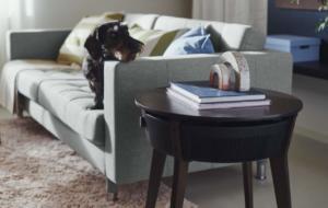 """Ikea lansează """"Starkvind"""", o masă cu purificator inclus"""