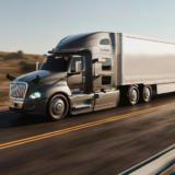 Acest camion cu self driving a scutit 10 ore față de un camion condus de șofer