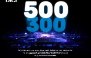 Clienții Digi Fiberlink 300 primesc upgrade gratuit, pentru viteză mai mare la internet