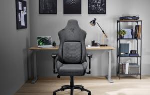 Razer introduce material textil pe scaunele sale Iskur