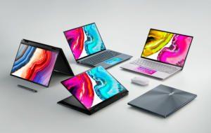 ASUS lansează noi laptop-uri cu OLED și Windows 11, pentru creatorii de conținut