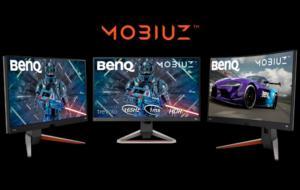 BenQ lansează trei noi monitoare de gaming din seria Mobiuz