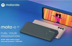 Motorola lansează două noi dispozitive entry level, moto e30 și moto e40