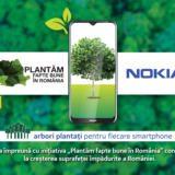 Orice terminal Nokia cumpărat va duce la plantarea unor copaci în România