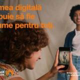"""Orange lansează campania """"Facem tehnologia digitală accesibilă tuturor"""""""